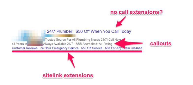 extensions google ads