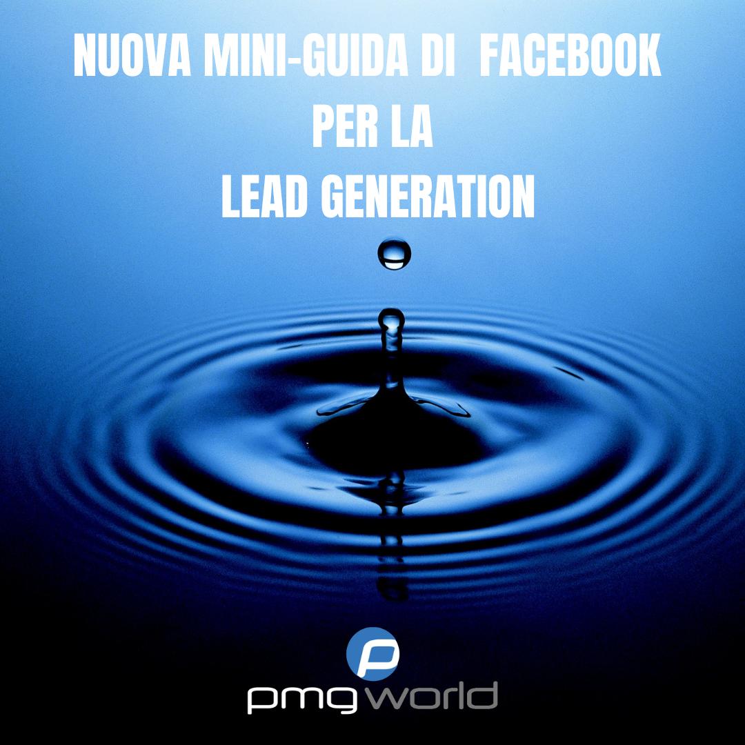 Nuova Guida di Facebook per la Lead Generation